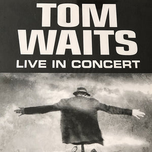 "Tom Waits Concert Poster from 1999 - Get Behind the Mule Tour - Toronto Canada Shows - Rare Rock Memorabilia - 24"" x 17"" - Vintage Rock"