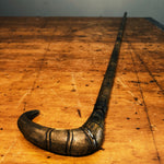 Top of Antique Stacked Horn Walking Stick