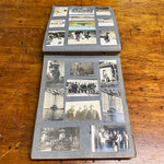 Old Album Antique Photo Album from Early 1900s - Indian Motorcycle - Car Racing - Railroad Photography - Camping - Military - 138 Photographs