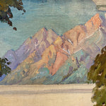 James Edwin McBurney WPA Mural Painting | 1930s Allegorical