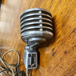 Vintage Turner 34X Crystal Microphone - Rare 1940s Musical Instrument - As Is - Not Tested - Rockabilly Rat Rod Hood Ornament?