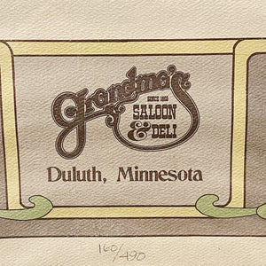 Rare Duluth Marathon Poster from 1982 | Limited Edition Signed