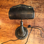 Aladdin Lamp with Ornate Cast Iron Base | 1920s
