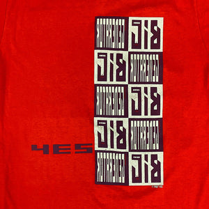 Vintage Yes Concert T Shirt - 1987 - Big Generator Tour - XL Rock Shirt - The Big Tour - Rare 80s Memorabilia - Owner of a Lonely Heart