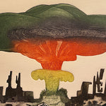 Guillermo Silva Santamaria Surreal Color Engraving | 1960