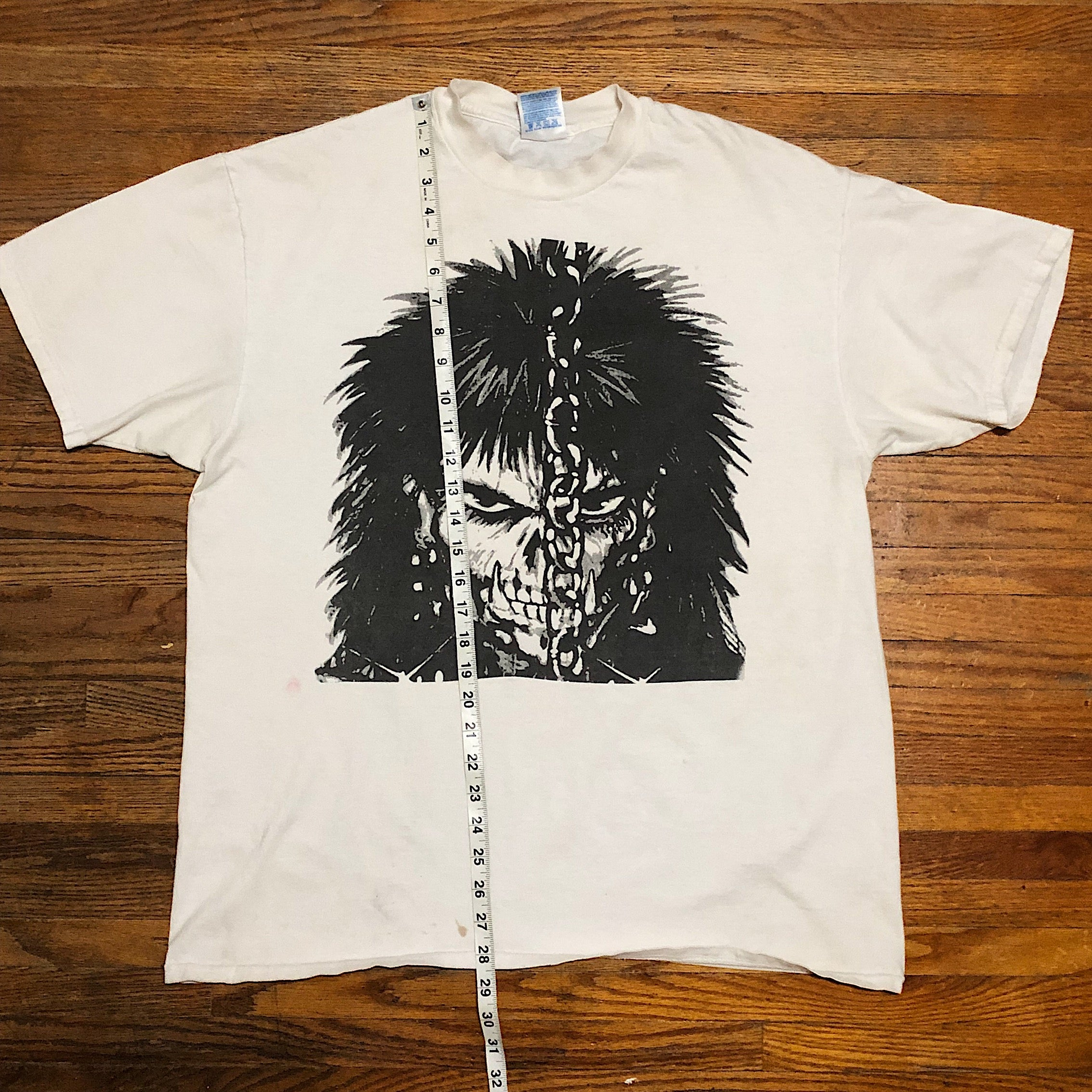 Vintage Punk Goth T-Shirt from the 90s | XL