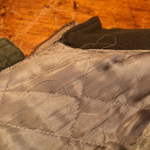 Fraying on Authentic WW2 Tanker Jacket