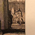 Louis Du Guernier Etching of Beheading and Axe Man | Early 1700s