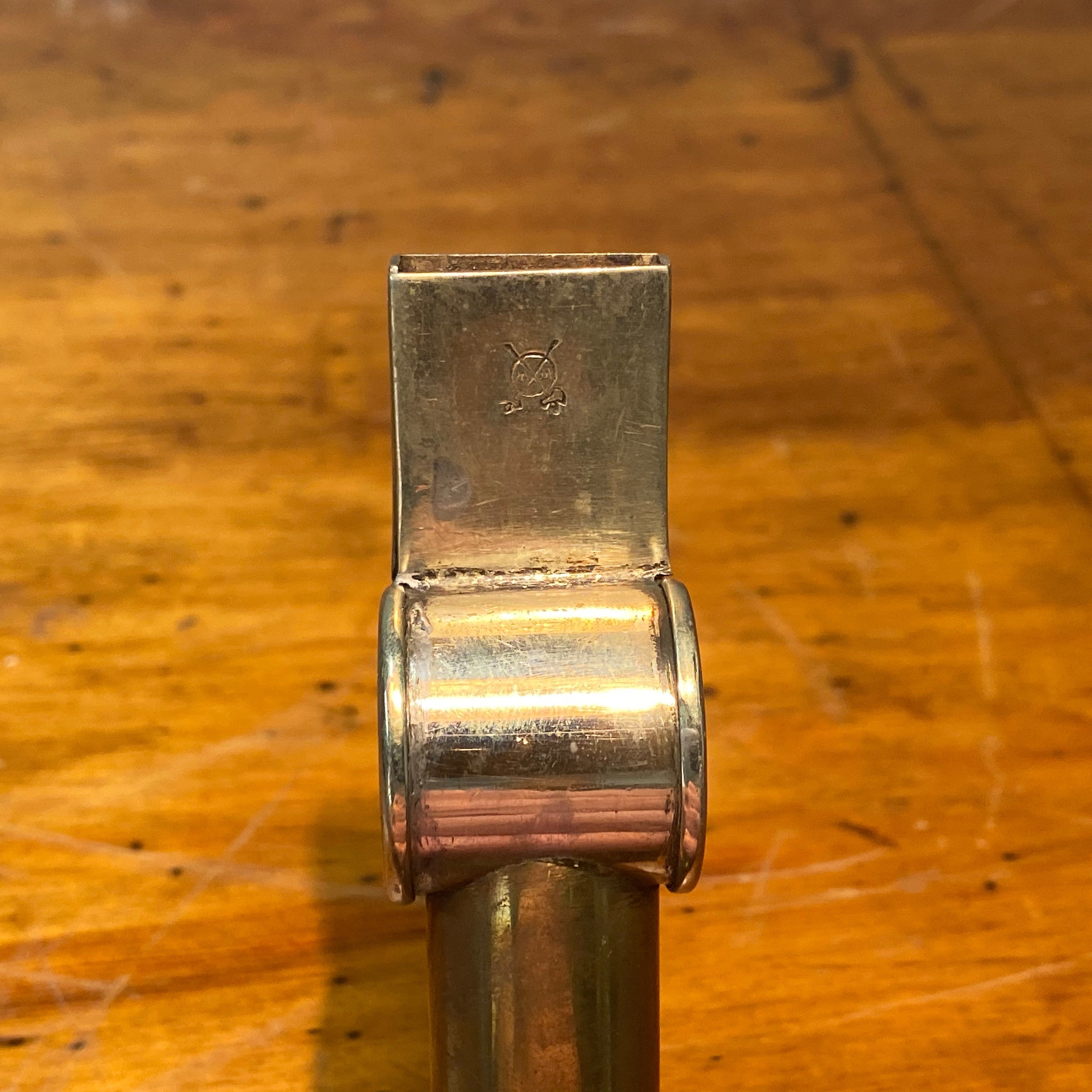 Antique English Whistle Cane | Early 1900s System Cane