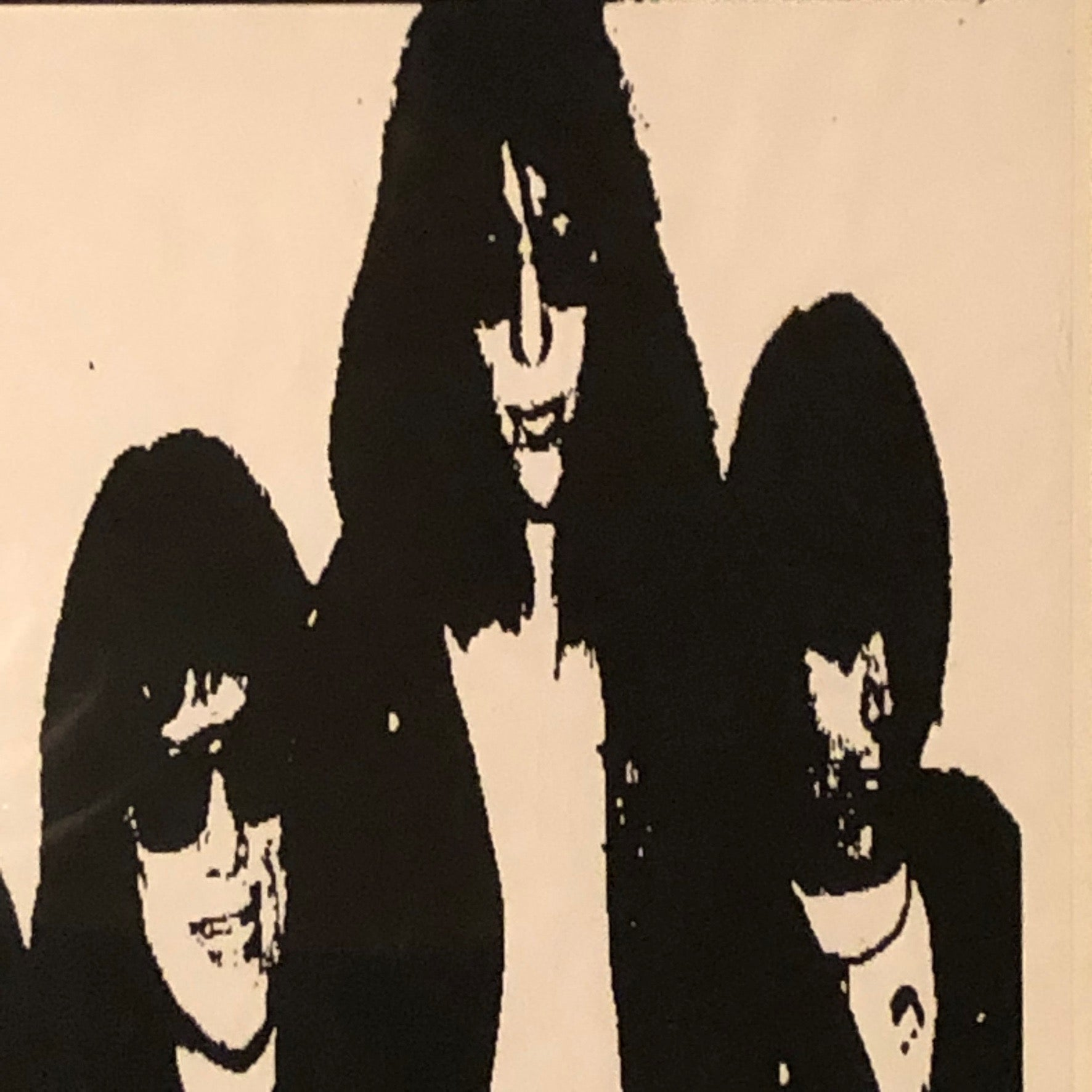 Rare Ramones Poster from Amsterdam Concert - 1987 - Punk Rock Memorabilia - New York Music Scene  - European Tour - Joey Ramones