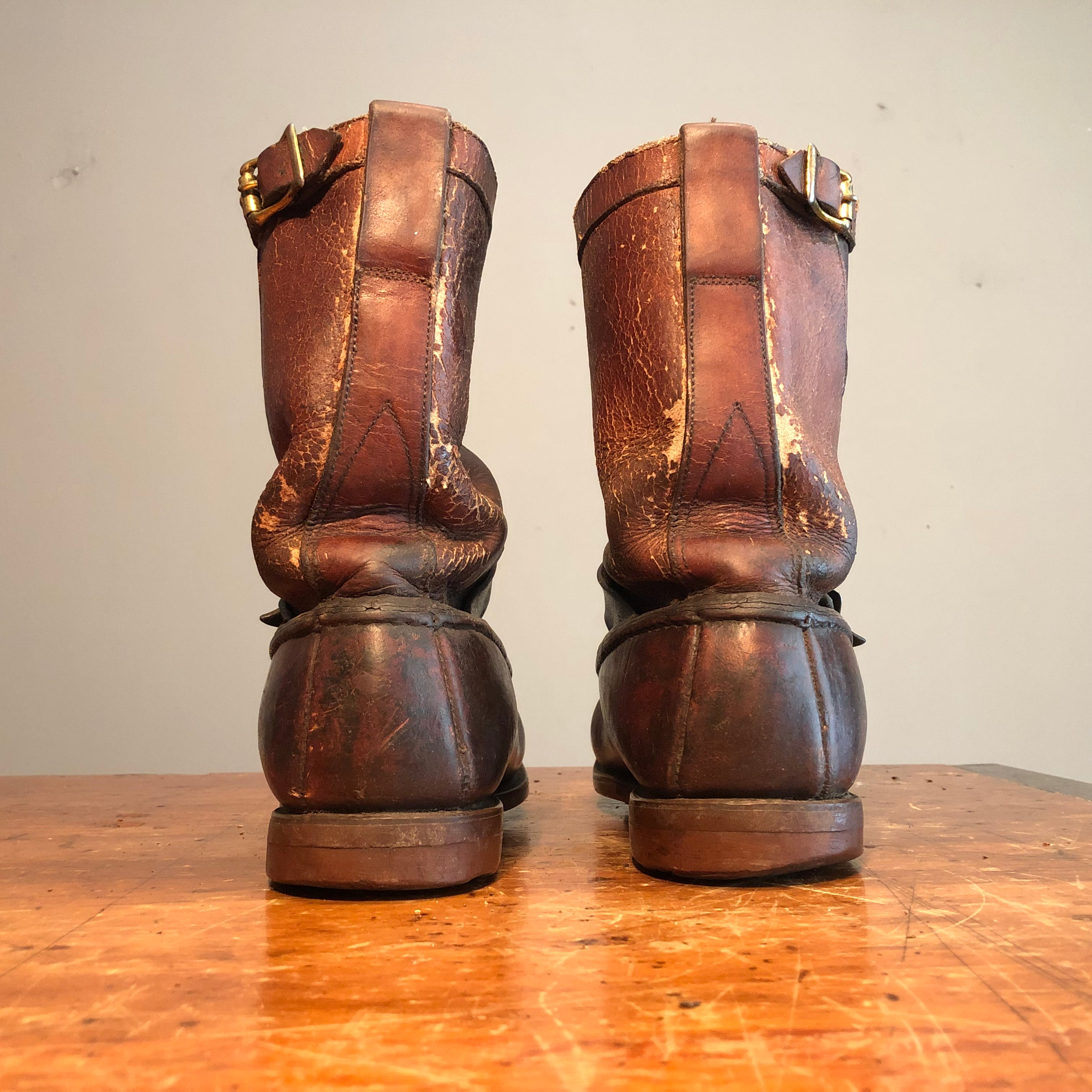50s Gokeys Botte Sauvage Leather Boots | Size 10.5?