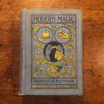 Rare Modern Magic Book by Professor Hoffmann - Late 1800s - Collectible Hard Cover Volume - Underground Literature - Art of Conjuring