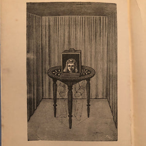 Engraving from Rare Modern Magic Book by Professor Hoffmann - Late 1800s - Collectible Hard Cover Volume - Underground Literature - Art of Conjuring
