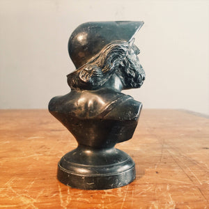 Vintage Ajax Metal Company Advertising Paperweight of Mythological God -