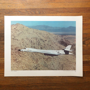 Vintage Air Force Lithograph Prints - Set of 11 - 1970s - U.S. Air Force Photography - U.S. Government Printing Office - Rare