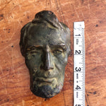 Measurements of Antique Abraham Lincoln Bronze Resin Bust