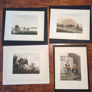 Emeric Essex Vidal Lithograph Lot (8) - Picturesque Illustrations of Buenos Ayres and Monte Video -