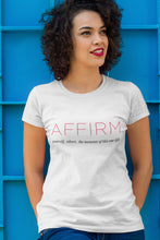 Load image into Gallery viewer, AFFIRM Logo Tee