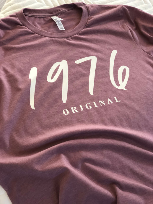 Birthday Year Original Tee