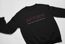 Load image into Gallery viewer, AFFIRM Logo Sweatshirt and Hoodie