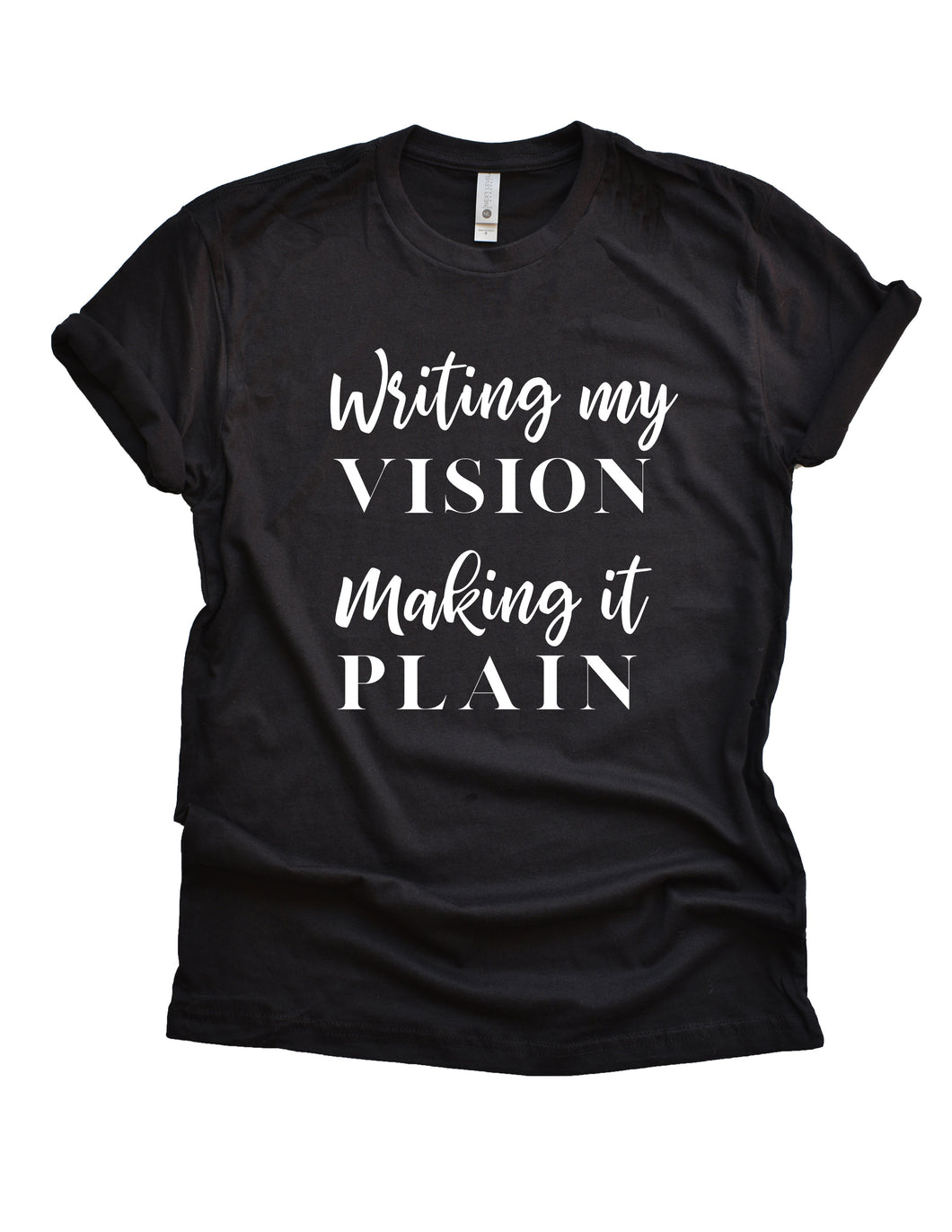 Writing My Vision.  Making It Plain.