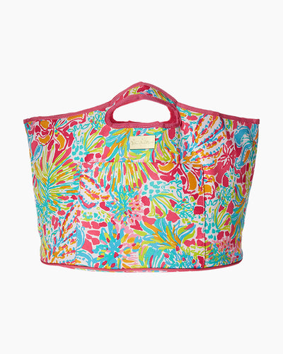 Lilly Pulitzer Insulated Beverage Bucket in Spot Ya