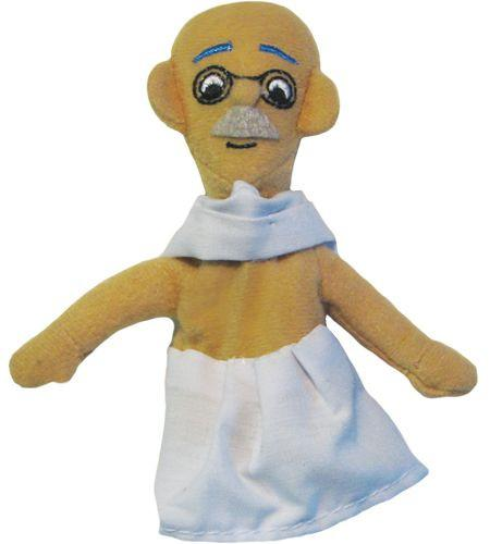 Mahatma Gandhi Finger Puppet and Fridge Magnet