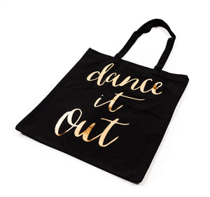 Rosanna -'Dance It Out' Canvas Tote - Petals and Postings