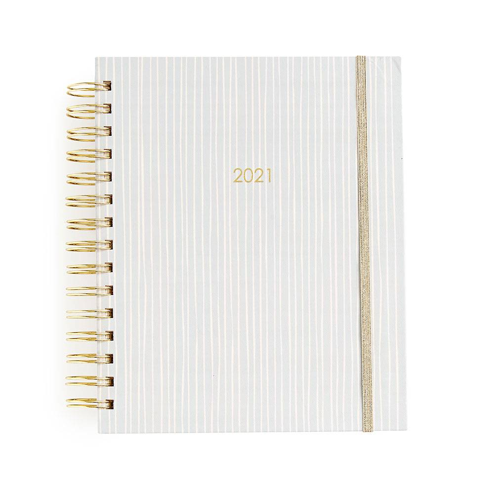 Paper Source Blush Stripe Medium Planner 2020-2021