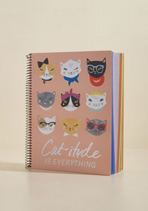 Paper Source Cat-titude Notebook