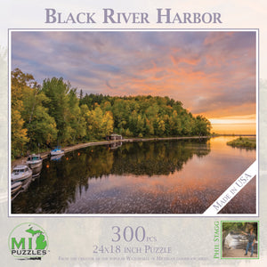 Black River Harbor 300 Piece Puzzle
