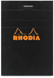 Rhodia Black no. 16 Lined Notepad
