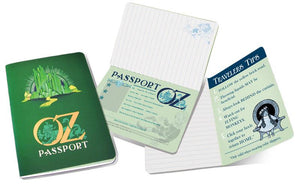 Oz Passport Pocket Notebook