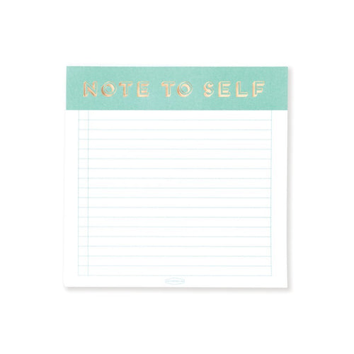 Designworks Notes to Self Note Pad