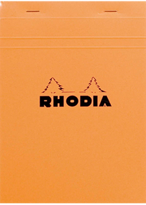 Rhodia Orange no. 16 Lined Notepad