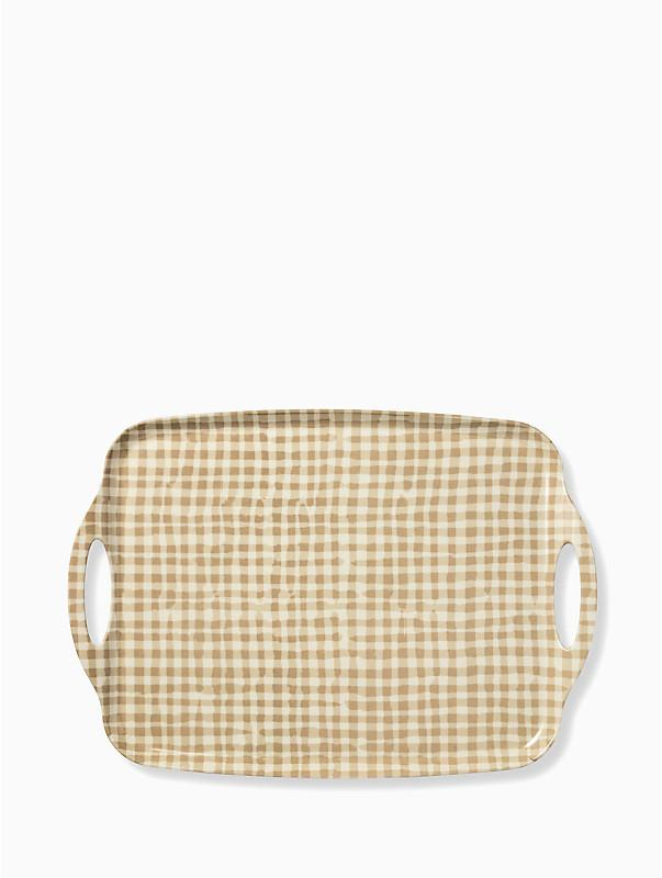 Kate Spade Gingham Serving Tray