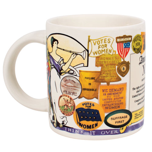 Unemployed Philosophers Guild 19th Amendment Mug