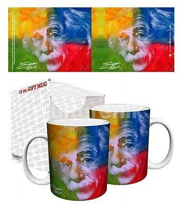 Drinkware-Albert Einstein - Classico San Francisco 11 oz Mug - Stephen Fishwick - Petals and Postings