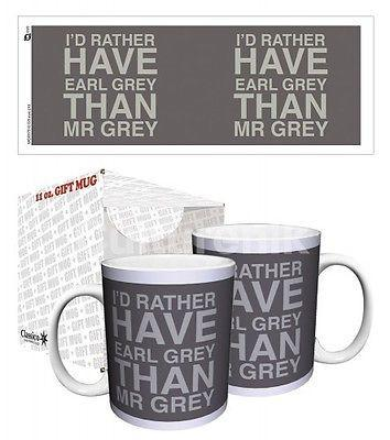 Drinkware-Earl Grey / Mr. Grey - 11 oz Mug - Classico San Francisco - Petals and Postings