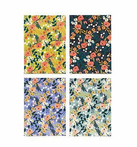 Rifle Paper Co. Violet Floral Social Stationery Set - Petals and Postings