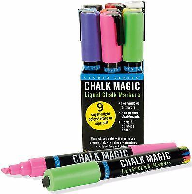 Home & Office-Liquid Chalk Markers - Chalk Magic - by Peter Pauper Press - Petals and Postings