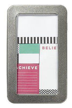 Load image into Gallery viewer, Dream Believe Achieve Sticky Note Set - Petals and Postings