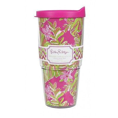 Lilly Pulitzer Jungle Tumble Tumbler with Lid - Petals and Postings