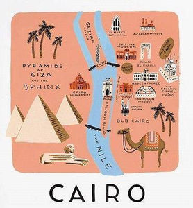 Rifle Paper Co. Cairo Art Print - Petals and Postings