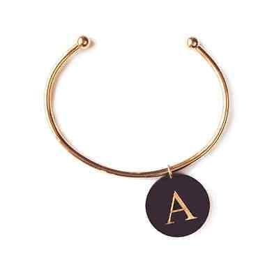 Moon and Lola Gold Plated Cuff Bracelet for Charms - Petals and Postings