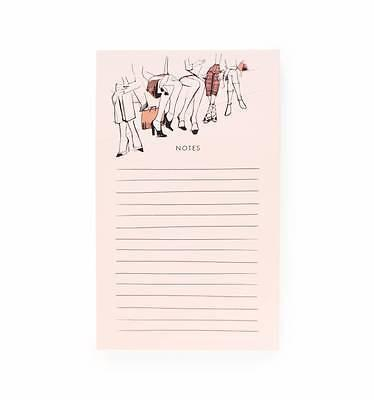 Rifle Paper Co. Front Row Notepad - Petals and Postings