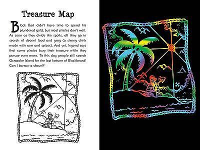 Peter Pauper Press - Pirates Scratch and Sketch: For Adventurous Artists - Petals and Postings
