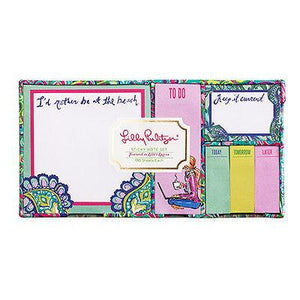 "Sticky Note Set - ""Lilly's Lagoon"" - Petals and Postings"