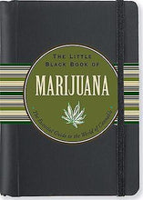 Load image into Gallery viewer, Peter Pauper Press - The Little Black Book of Marijuana - Petals and Postings