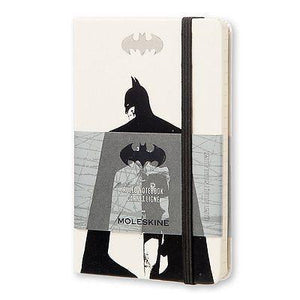 "Moleskine - Limited Edition Batman 3.5""x 5.5"" Ruled Notebook - Petals and Postings"